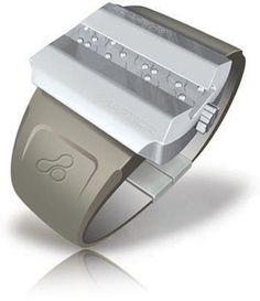 haptica braille watch by david chavez
