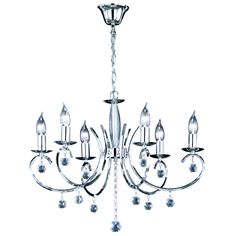 Add a touch of class to your home with a classic crystal, brass, gold or antique chandelier. Enjoy FREE and fast delivery to most of the UK on orders over Shop online now! Chandelier, Candle Style Chandelier, Silver Chandelier, Chandelier Lighting, Wagon Wheel Chandelier, Chandelier Fixtures, Chandelier Shades, Mikado Living, Ceiling Lights