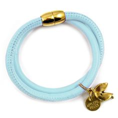 Fortune cookie armband baby blue from Applepiepieces #applepiepieces #bluemonday
