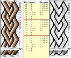 16 tarjetas, 4/2 colores, repite cada 8 movimientos // sed_1032 diseñado en GTT༺❁