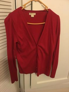 Monsoon - Girls / Women's Red Cardigan Size 10 #Monsoon #Straight #Casual