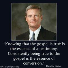 Testimony vs Conversion