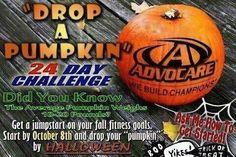 """Drop A Pumpkin"" 24-Day Challenge"