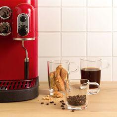 Leonardo Loop Theeglas 0,36ltr - 6 stuks Wedgwood, Popcorn Maker, Nespresso, Coffee Maker, Kitchen Appliances, Glass, Latte Macchiato, Style, Coffee Or Tea