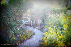 alice in wonderland like garden
