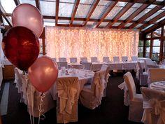 #wedding #esküvő #hochzeit #weddingdecoration #esküvődekoráció #lightcurtain #weddinglights Chandelier, Ceiling Lights, Lighting, Home Decor, Wedding, Candelabra, Decoration Home, Room Decor, Chandeliers