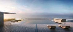 321 Ocean Drive rooftop pool by D-Box