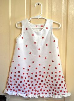 Stand and Deliver: 2-3T Sleeveless Dress Pattern & Tutorial