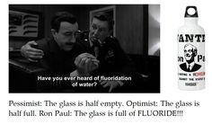 On Optimism, Pessimism and Flouride