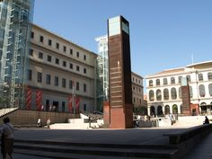 #Queen #Sofia #Museum, Madrid. With seminal works by #Picasso and #Dali, the Reina Sofia is Spain's most famous modern art museum