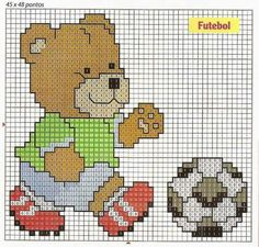 Teddy playing Soccer graph https://au.pinterest.com/agonzalezva0753/