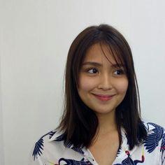 Medium Hair Cuts, Medium Hair Styles, Kathryn Bernardo Hairstyle, Filipina Actress, Daniel Padilla, Pitch Perfect, Hairstyles Haircuts, Hair Inspo, Asian Girl
