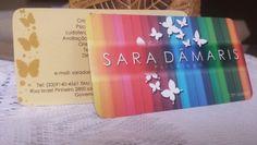 Cartão Sara..