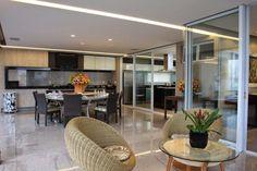30 Áreas de churrasco/gourmet integradas à casa – veja modelos modernos + dicas! - Decor Salteado - Blog de Decoração e Arquitetura