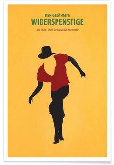 Il Bisbetico Domato - Fräulein Fisher - Premium Poster