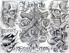 Arte chicano tatuajes - Imagui