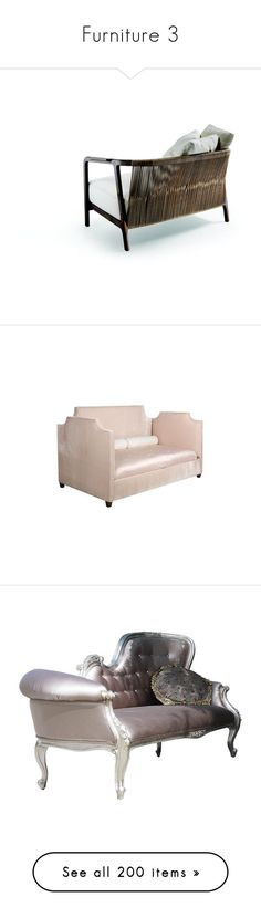 """Furniture 3"" by kseniz13 ❤ liked on Polyvore featuring home, furniture, chairs, accent chairs, sofas, silver leaf furniture, beige linen sofa, cream sofa, cream linen sofa and nailhead furniture"