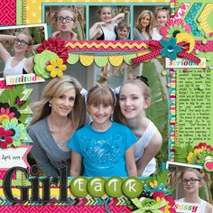 Credits: Cindy's Layered Templates - Half Pack 103: Photo Focus 47 by Cindy Schneider Girl Talk by Melissa Bennett Bauble Alpha by Shawna...