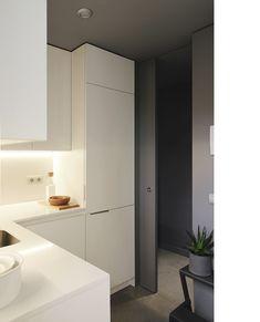 Diseño y reforma de apartamento. Madrid. Iglesias-Hamelin arquitectos c.b. Cocina.