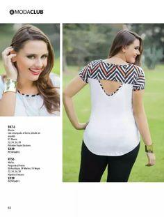 Verano 2014 Batik Dress, Blouse Dress, Diy Fashion, Fashion Tips, Couture Tops, Blouse Designs, Custom Clothes, Cool Outfits, Plus Size