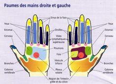 Tout est dans la paume de votre main: appuyez sur ces points pour éliminer votre douleur