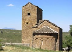 San Andrés de Satué - El Serrablo, provincia de Huesca