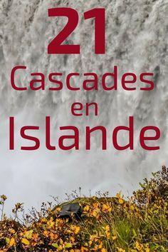 Découvrez en video et photos, 21 des plus belles cascades d'Islande - les plus originales, les plus puissantes, le plus délicates... http://zigzagvoyages.fr/cascades-islande/