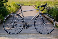 Stanridge Speed XCr Road: Stainless Steel. Crikey. Click through for more shots of this bike.