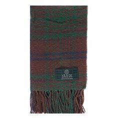 MacGillivray Hunting Ancient Tartan Scarf from Gretna Green #TartanScarf #PlaidScarf £14.99