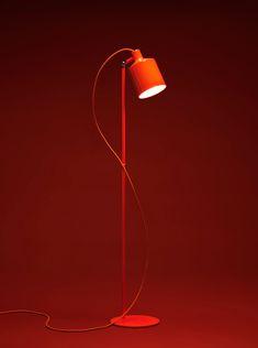 note design studio: silo trio pendant lights + silo floor lamps for zero
