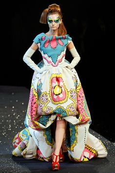 john galliano:for Dior      Christian Dior Spring 2008 Haute Couture