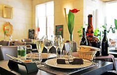 Table Restaurant Le Xii de Luynes