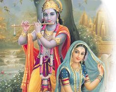 Lord Krishna and his flute