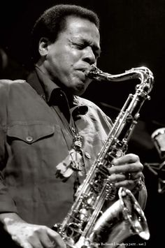 """Wayne Shorter - Besides working in Weather Report, I've also enjoyed recording (""""Joyrider"""") and touring in two other bands led by Wayne!"""