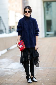 5 MORE ways to make your leggings work this winter