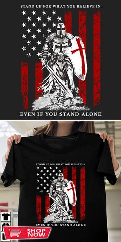 You can click the link to get yours. Knight Templar tshirt for Crusader and Knight Templar Lovers. We brings you the best Tshirts with satisfaction. Crusaders, Knights Templar, Inspirational Gifts, American Flag, Special Gifts, Warriors, Christ, Shop Now, Lovers