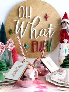 Elf On the Shelf North Pole Breakfast with Daydream Society – Klos + Co The Elf, Elf On The Shelf, North Pole Breakfast, White Chocolate Popcorn, Christmas Preparation, Santa Letter, Small Gifts, Christmas Holidays, Daydream
