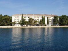 Island near Pula, Croatia-- communist villa