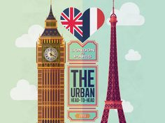 London vs. Paris [INFOGRAPHIC]