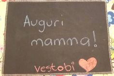 Tovaglietta lavagna  chalkboard riutilizzabile