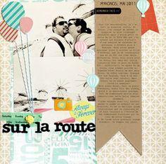 layout featuring HEYDAY by @Céline Navarro langes Banner, großes Foto, Ballons mit Schnur