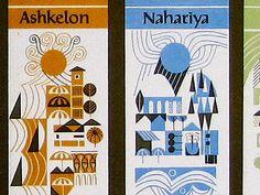 Graphic Design in Israel 1985 by Public School, via Flickr