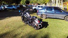 Triumph Rocket 2300 cc Preta