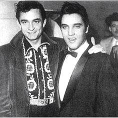 Elvis and Johnny Cash http://media-cache9.pinterest.com/upload/4574037091686947_wPEBlfiN_f.jpg annasays because i m a music junkie