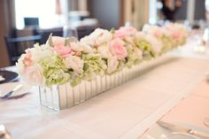 Are you thinking about having your wedding by the beach? Are you wondering the best beach wedding flowers to celebrate your union? Here are some of the best ideas for beach wedding flowers you should consider. Green Centerpieces, Wedding Centerpieces, Wedding Table, Wedding Ideas, Bridal Table, Centerpiece Ideas, Wedding Decorations, Rectangle Table Centerpieces, Shower Centerpieces
