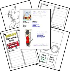 Free England Country Study Lapbook from Homeschool Share Teaching Geography, World Geography, Five In A Row, My Father's World, Cycle 2, Budget Planer, Thinking Day, Project Based Learning, Little Passports