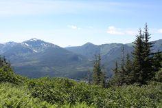 Hiking Mt. Roberts - near Juneau, Alaska
