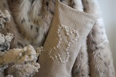 This Dog Bone Stocking will be perfect for your pooch! BIG cross stitch used for a modern twist. If you love to mix and match decor, using old and new things, then this stocking is perfect for you! It goes excellently in a modern, shabby chic, woodland, or eclectic home!  Combining cross stitch with modern decor is the new trend and its a fantastic edge to have. No one will have Christmas Decor like you! Even your dog can have a matching stocking that goes with the rest of your collection…