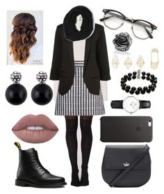 """""""Job interview🤓"""" by lacie-clair on Polyvore featuring A.L.C., Miu Miu, Dr. Martens, Kate Spade, WithChic, Paula Bianco, Belk & Co., Daniel Wellington, Lime Crime and ZeroUV"""
