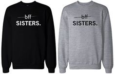 Matching BFF Black and Grey Sweatshirts for Best Friends - BFF Sisters, http://www.amazon.com/dp/B00S8PWTE4/ref=cm_sw_r_pi_awdm_6hXRwb06G7B7Y